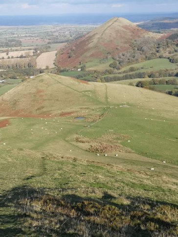 Julie 3 The Lawley from Caer Caradoc